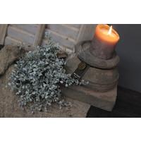 Brynxz stenen poer kandelaar Old brown 18 cm
