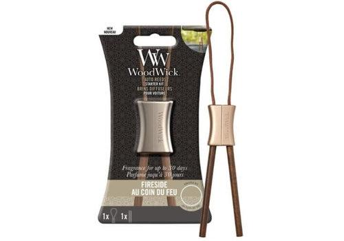 WoodWick WoodWick Auto Reed Fireside starter kit