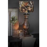 Cilinder lampenkap Autumn Rosa 30 cm
