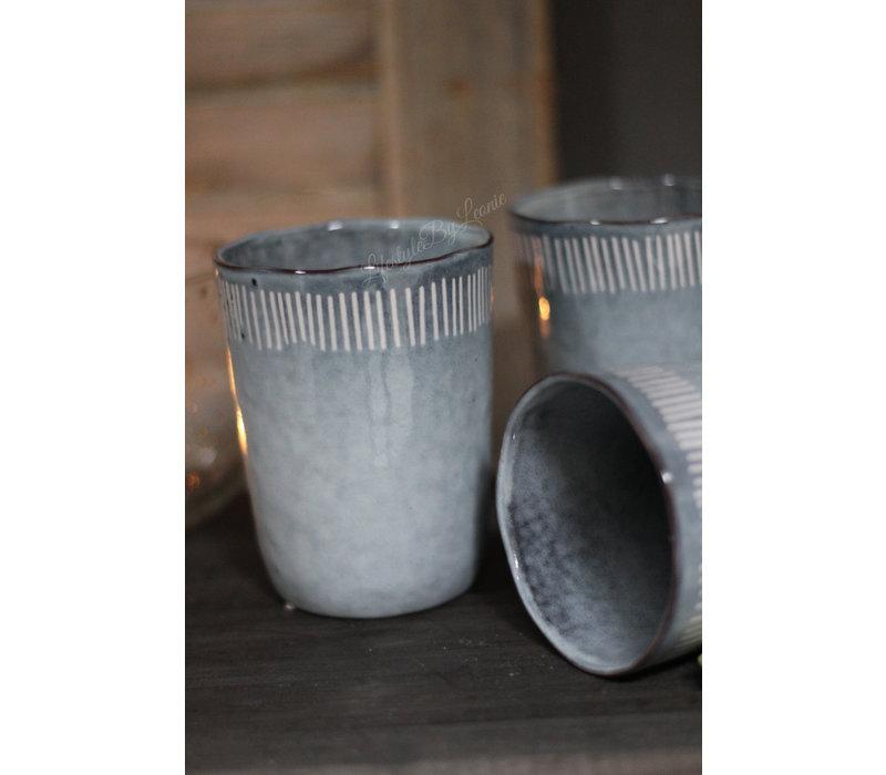Koffiekop large Grey