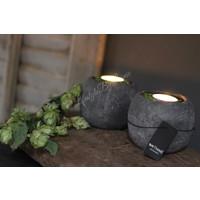 Brynxz stenen bakje waxinehouder 10cm