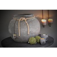 Brynxz stenen bakje waxinehouder 7cm
