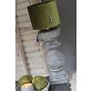 Brynxz Brynxz velvet cilinder kap moss green 15cm