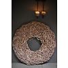 Krans coco slice Naturel 80cm