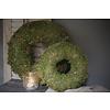 Dikke groene moskrans 30 cm