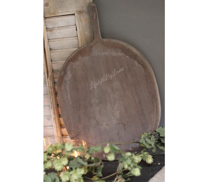 Ovale snijplank met handvat Indo