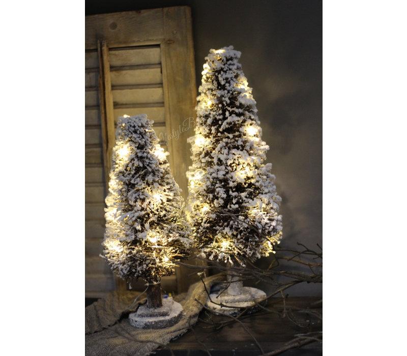 Kerstboom Dry Tree met LED lampjes 40 cm