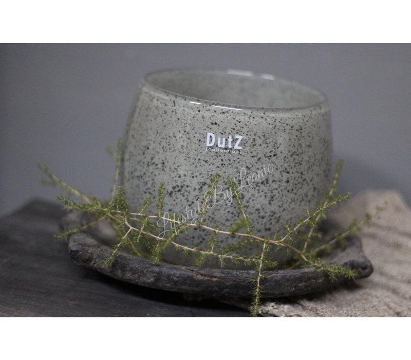 DUTZ round windlicht New grey 10 cm