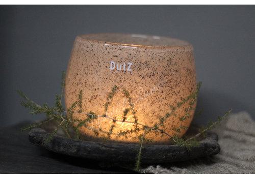 Dutz DUTZ round windlicht New grey 10 cm