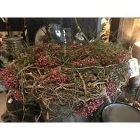 Krans Rooth rozenbottel en asparagus