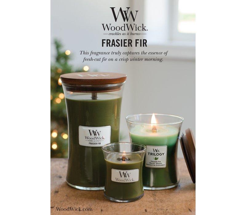 WoodWick Frasier fir large