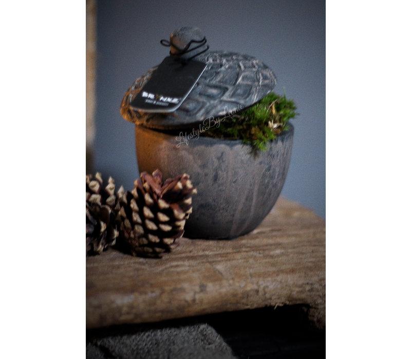 Brynxz eikel cup kandelaar 12 cm
