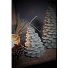 Brynxz Brynxz kerstboom kaars Sage green 12 cm