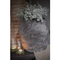 Brynxz grote stenen kruik met oor 36 cm