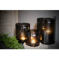 DUTZ cilinder windlicht black 14 cm