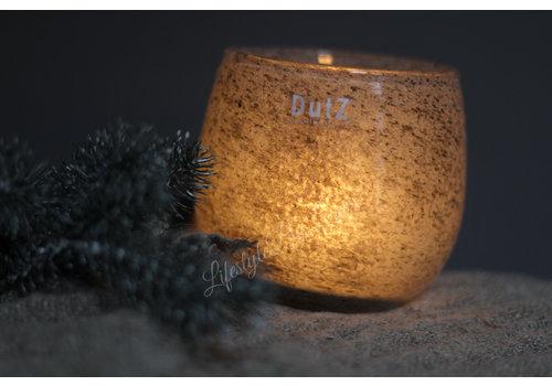 Dutz DUTZ round windlicht New grey 13 cm