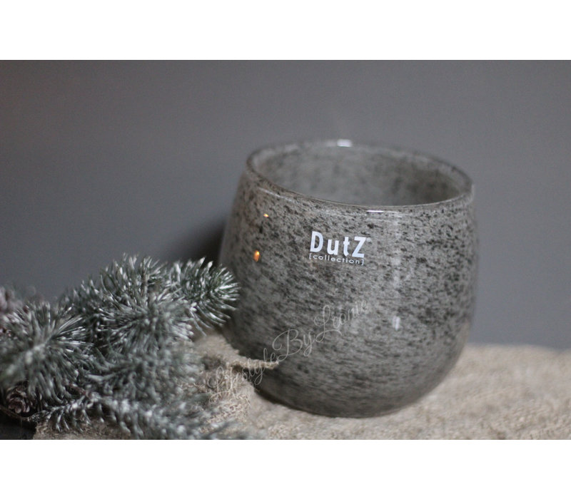 DUTZ round windlicht New grey 13 cm