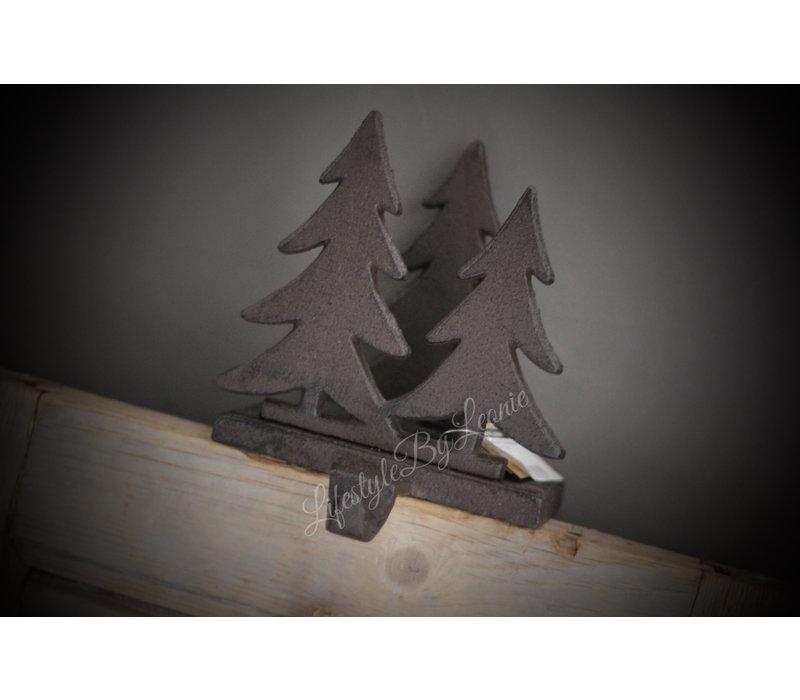 Gietijzeren kranshouder Tree's 16 cm