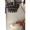 Metalen Old black schijfjeslamp - 50cm