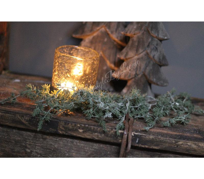 Bosje dennentakken met glitter spengeri 60 cm