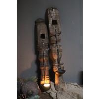 Authentieke wandbaluster met hanglepel