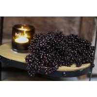 Bosje pepperberries zwart / brons
