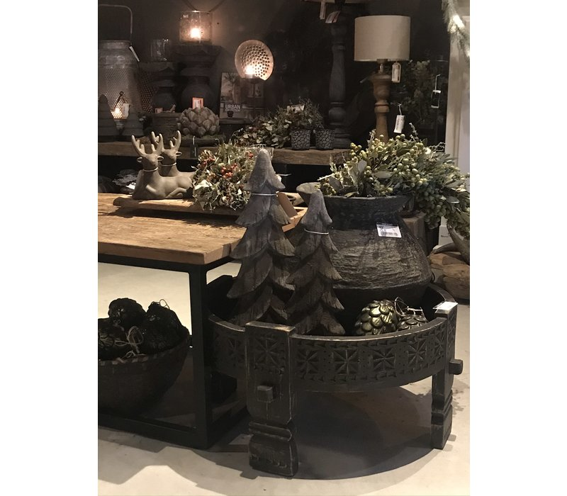 Sobere zwarte Chakki tafel 55 cm