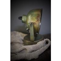 Metalen wandlamp One oud oud groen