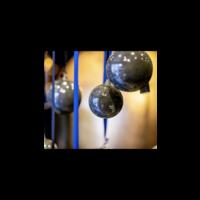 DUTZ kerstbal Grey 8 cm