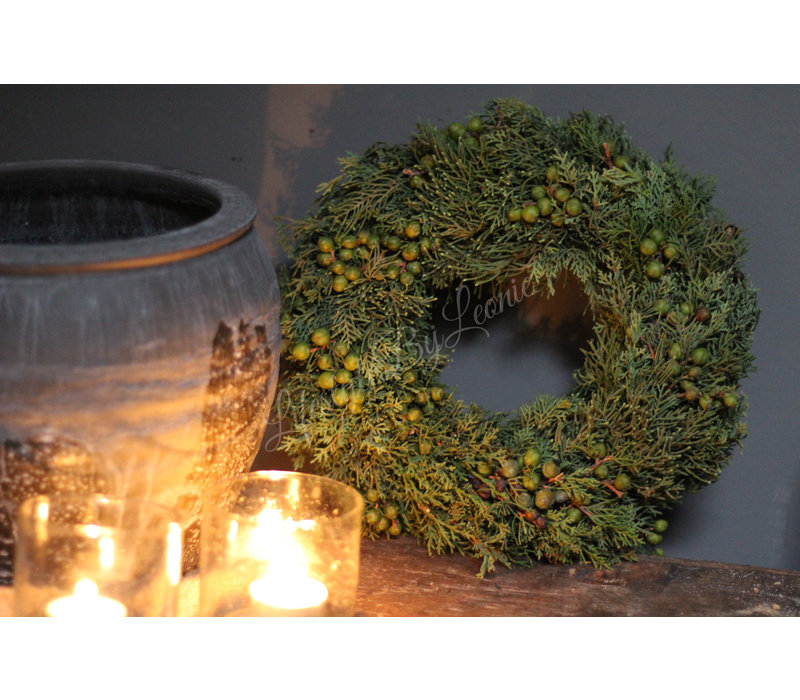 Groene krans Juniperus 28 cm