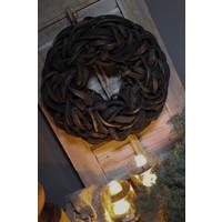 Krans Coco slice black 40 cm