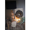 Houten baluster lampvoet Bol 50 cm