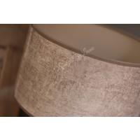 Velvet cilinder lampenkap Leem 25 cm