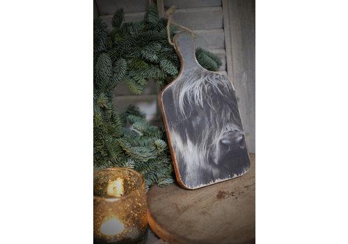 Houten snijplank Hooglander 27 cm