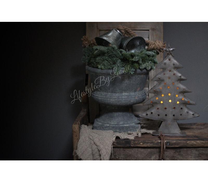 Brynxz Majestic stenen pot op voet 30 cm