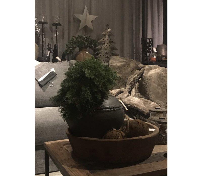 kersttoef kiefer/nobilis/verlichting