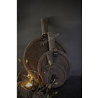 Brynxz plate met handvat Old brown - maat L