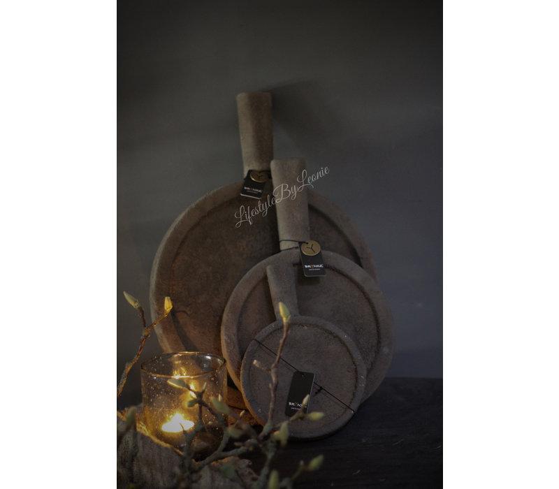 Brynxz plate met handvat Old brown - maat S