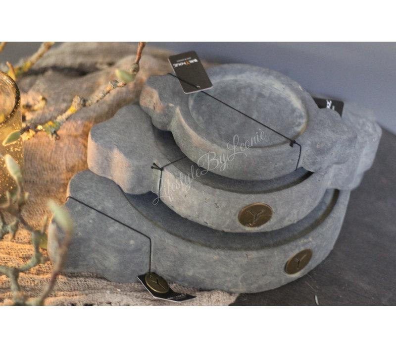 Brynxz Majestic stenen Indiase plate - maat L