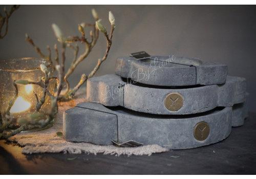 Brynxz Brynxz Majestic stenen Indiase plate - maat M