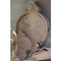 Brynxz stenen Indiase plate Old brown - maat S