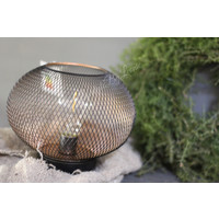 Ronde draadlamp LED 20 cm