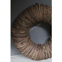 Strakke twig krans 80 cm