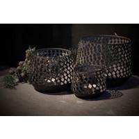 Set van 3 draadlantaarns Marroc 18 cm