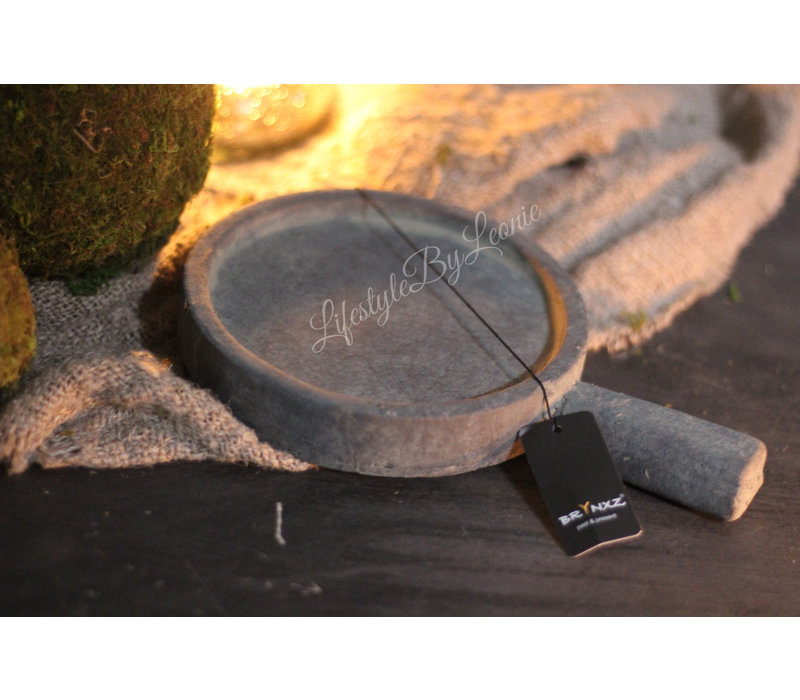 Brynxz Majestic plate met handvat - maat S