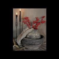 Aura Peeperkorn authentieke grijze Chinese schaal