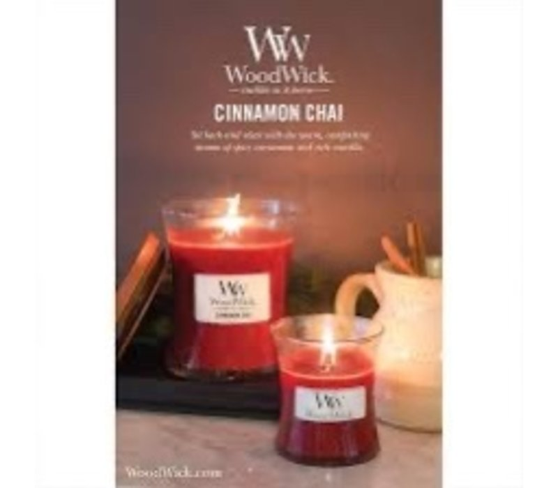 WoodWick Cinnamon chai medium