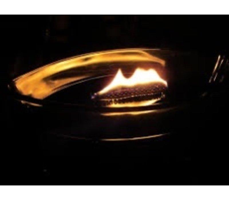 WoodWick Cinnamon chai hearthwick flame