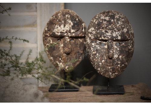 Authentiek masker op statief 20 cm