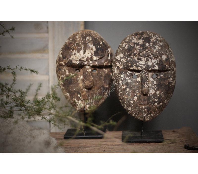 Authentiek masker op statief 20cm